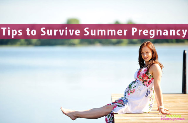 Tips to Survive Summer Pregnancy