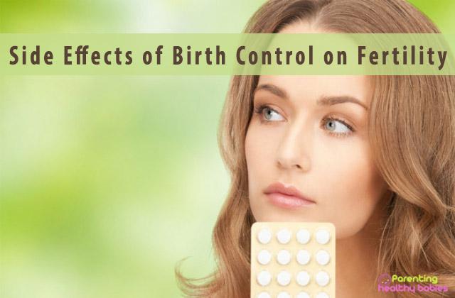 effect of birth control on fertility