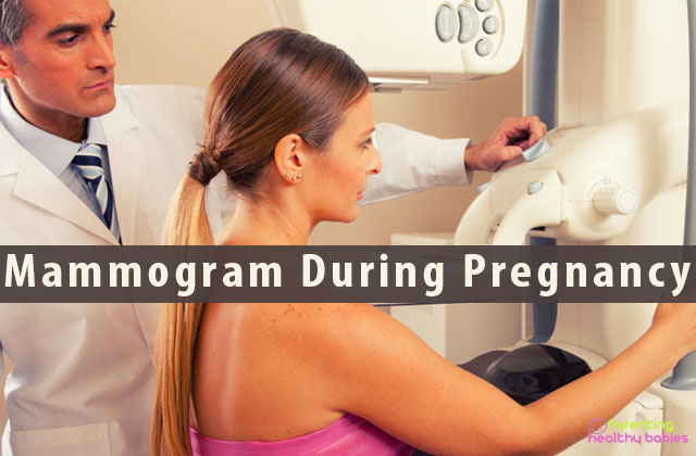 mammogram during pregnancy