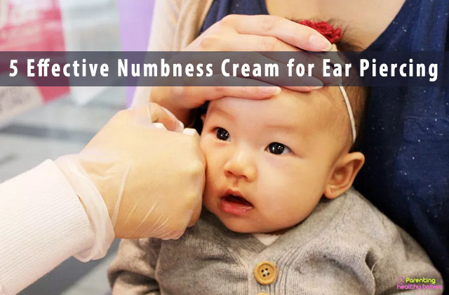 5 Effective Numbness Cream for Ear Piercing
