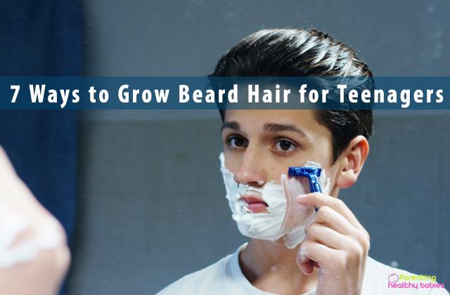 7 Ways to Grow Beard Hair for Teenagers