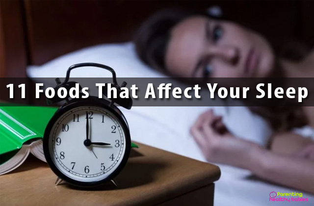 Foods that Harm Your Sleep