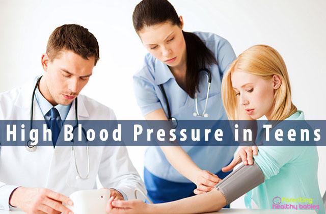 high blood pressure in teens