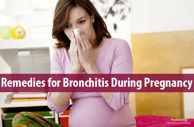 bronchitis during pregnancy