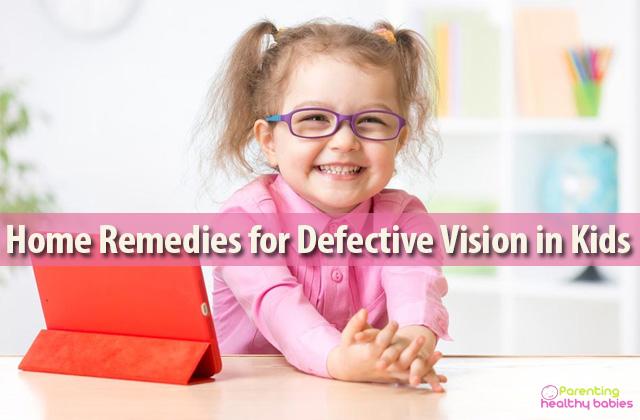 defective vision in children