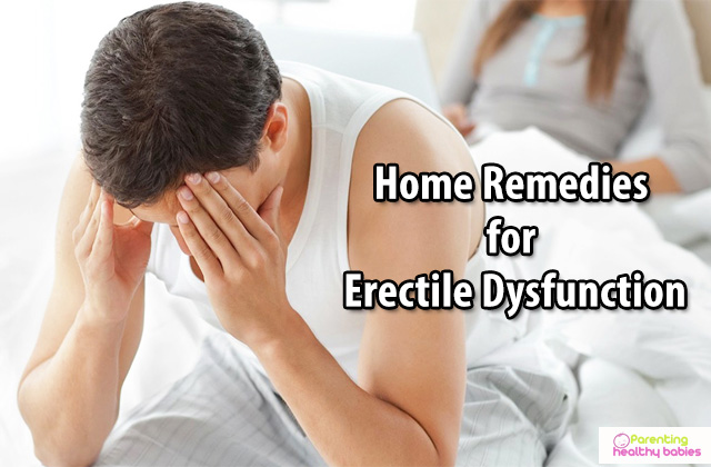 erectile dysfunction home remedies