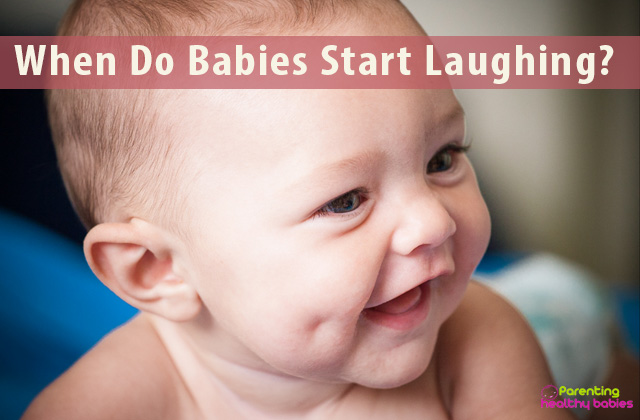 when do babies start laughing