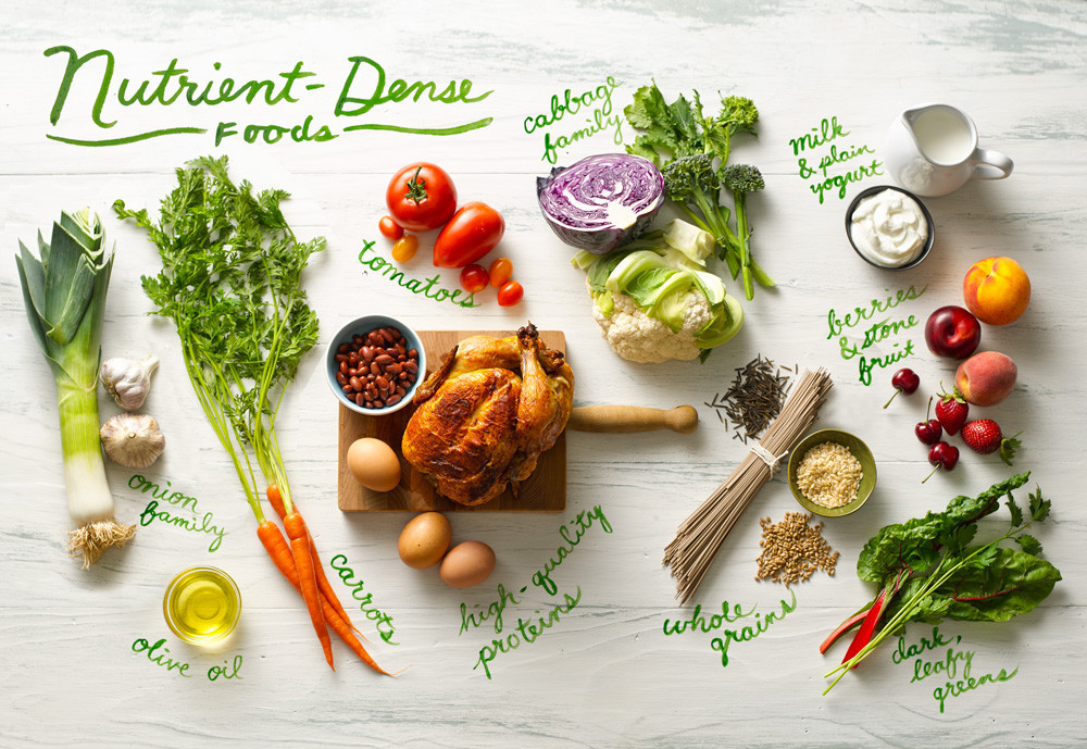 Nutrient dense food for child