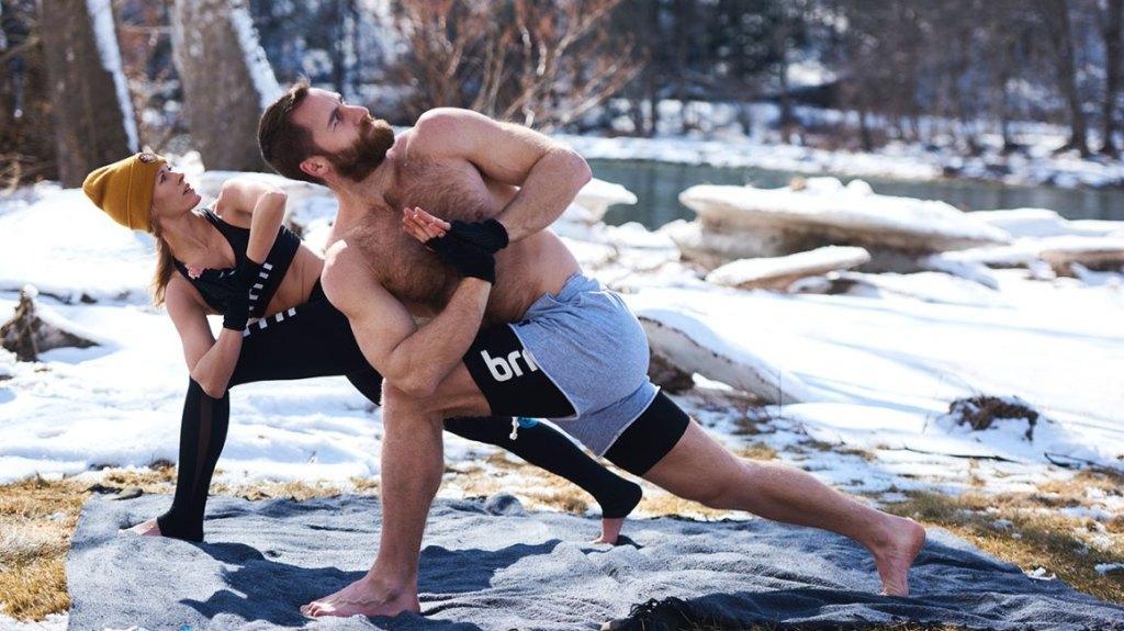 cold yoga