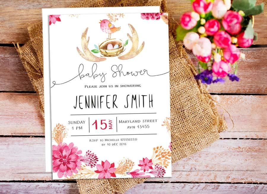 baby shower invitation tool