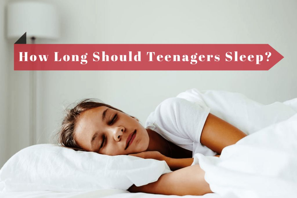 how much sleep should a teenager get