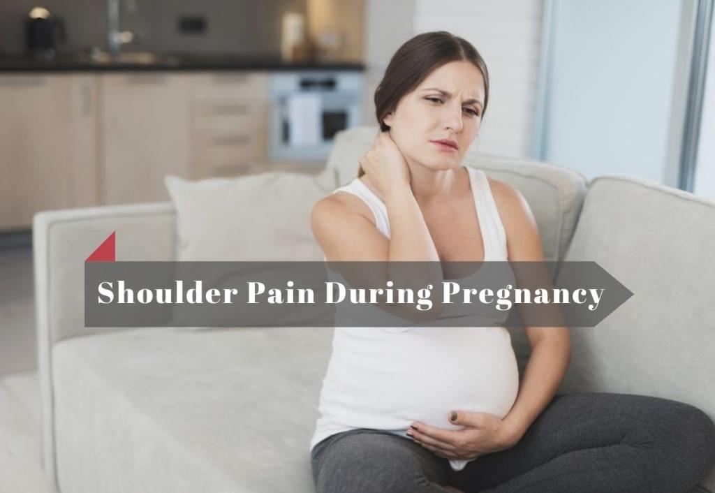 shoulder pain pregnancy