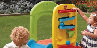 toddler slides and climbers