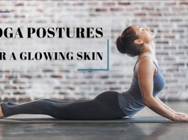 yoga pose for skin