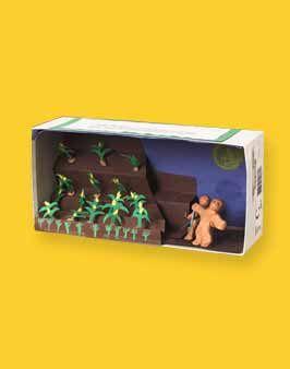 Aztec Diorama
