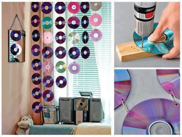 DIY CD Curtains