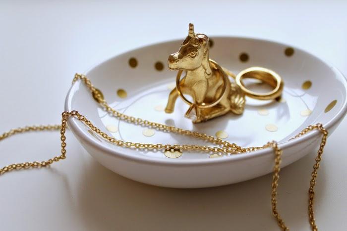 DIY Gold Animal Ring Dishes