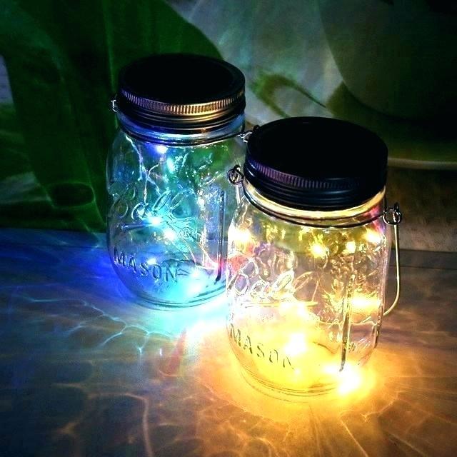 DIY Mason Jar Fairy Lights