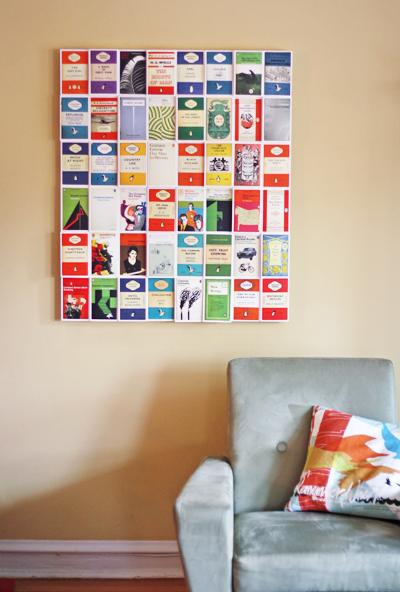 DIY Postcard Wall