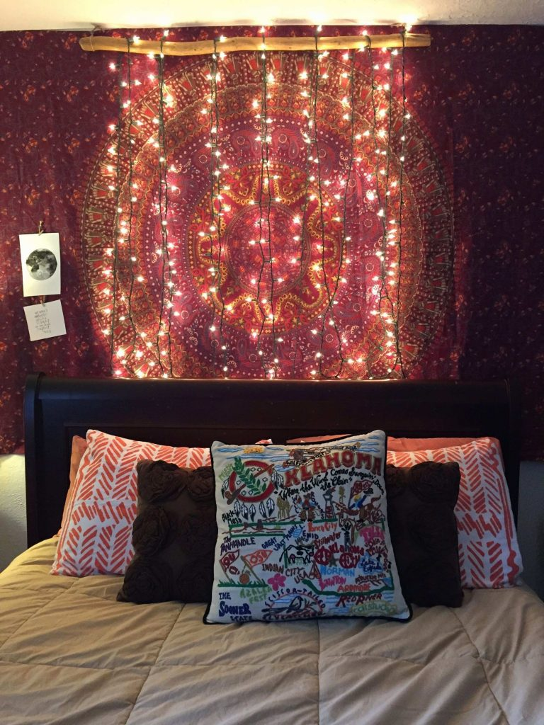 DIY Starry Bedpost