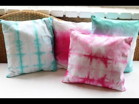 DIY Tie-Dye Pillowcase