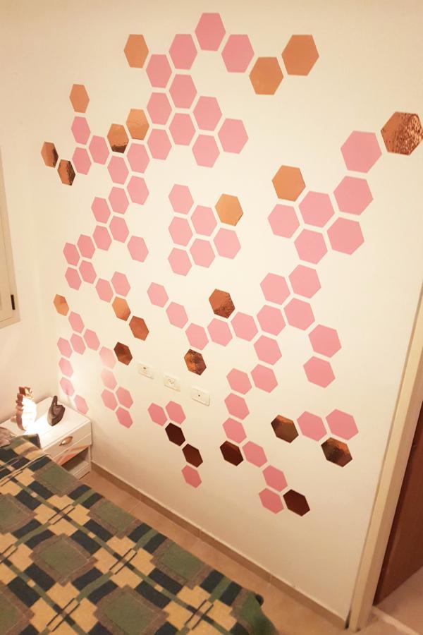 Hexagonal Wall Accents