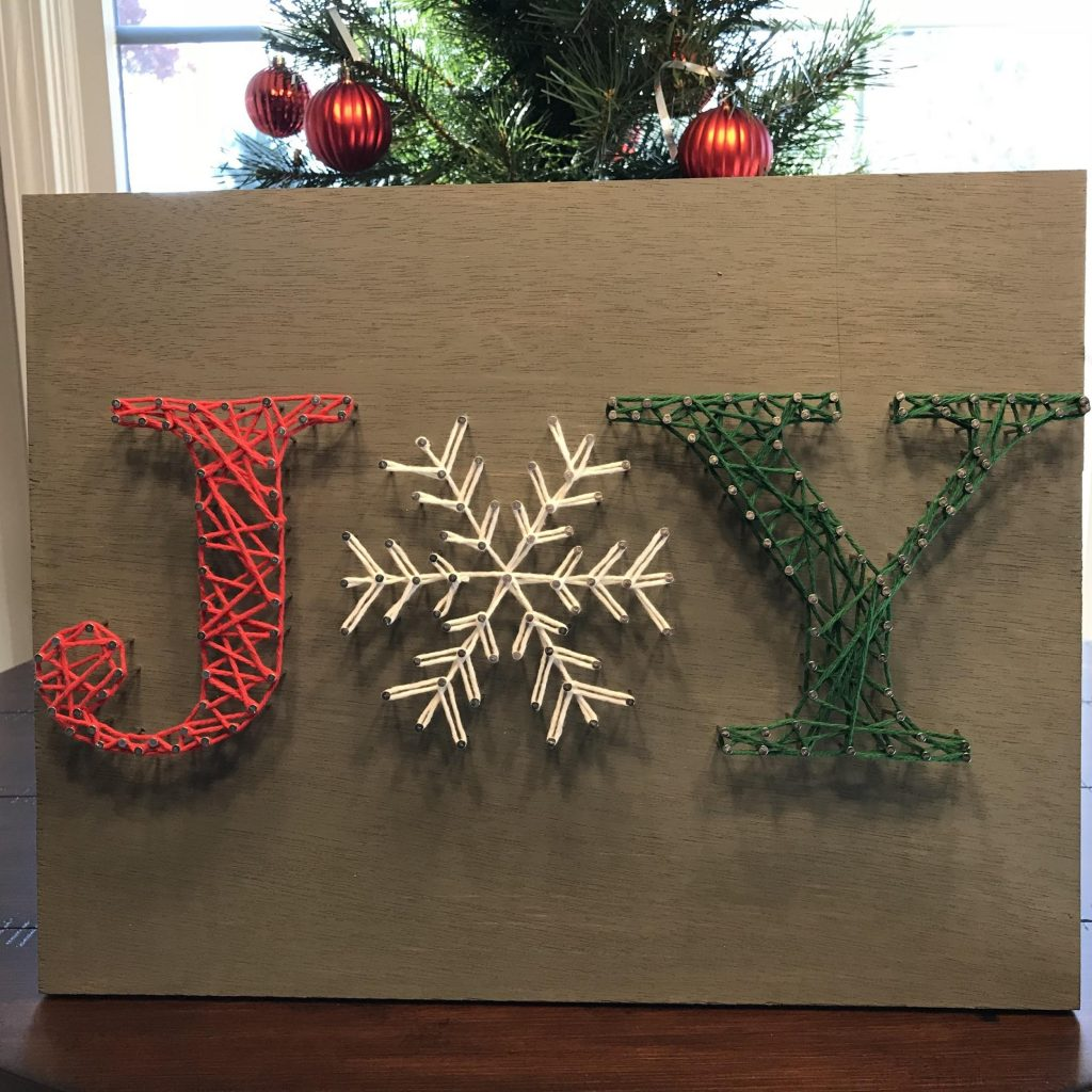 Joy String Art