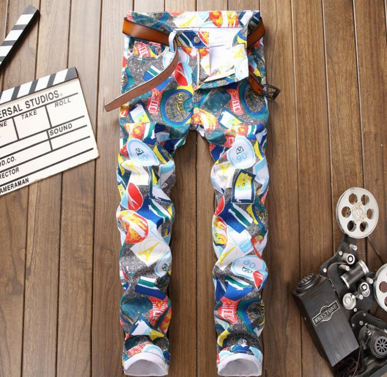 Painting on Jeans for a Cool Colorful Look