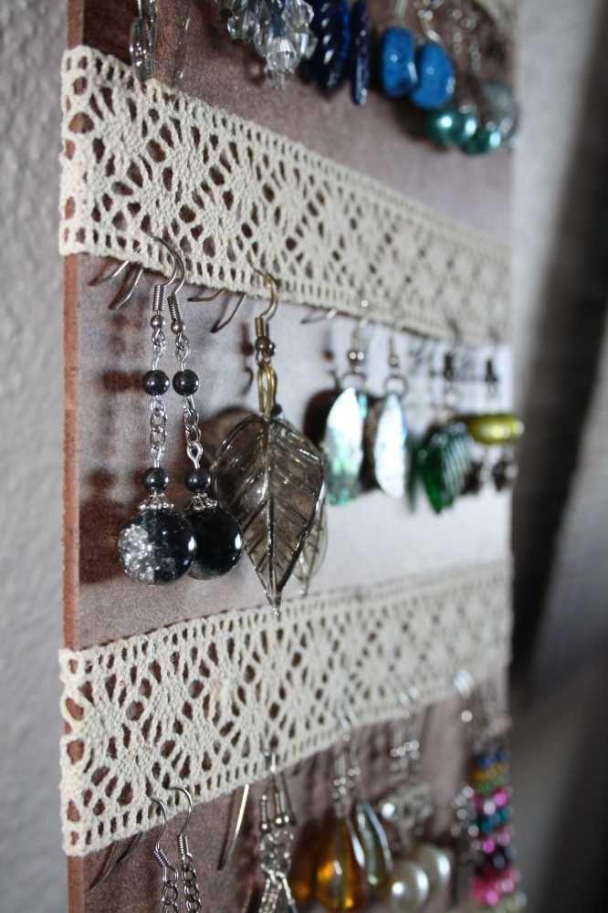 Tulle Frame Jewellery Holder