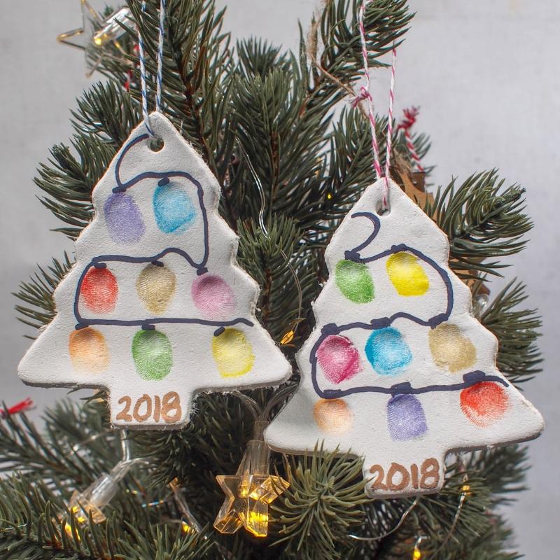 A Lighted Christmas Tree