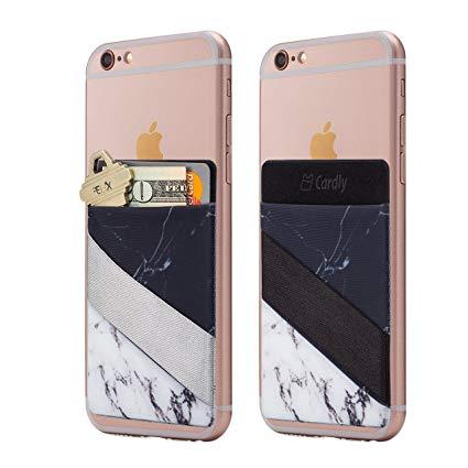 CARDLY Stick-On Phone Pocket