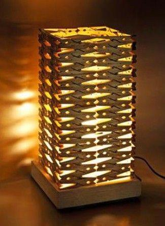 Clothespin Lamp for Teens