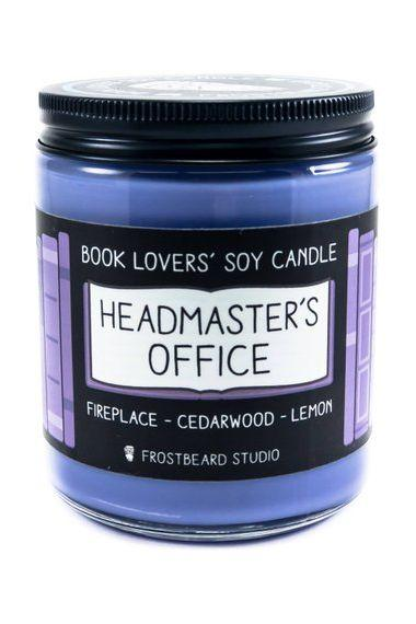 Dumbledore's Office Scented Candle