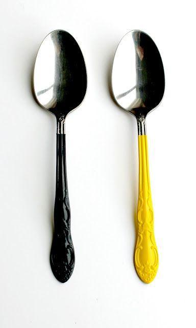 Enamel Spoon Decoration