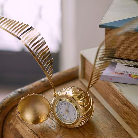 Golden Snitch Clock