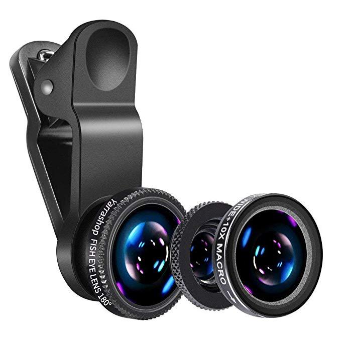 Luxsure Universal iPhone Camera Lens Kit