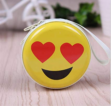 Portable Dahama Headphone Case (in Emoji)