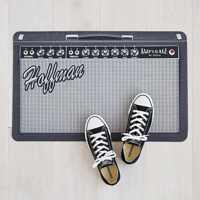 UNCOMMONGOODS Personalised Amp Doormat