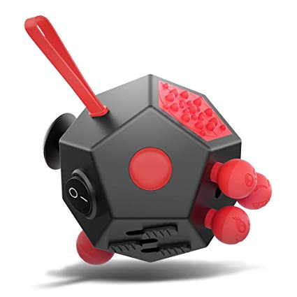 XDesign Fidget Cube 12 Sides Cube Attention Toy