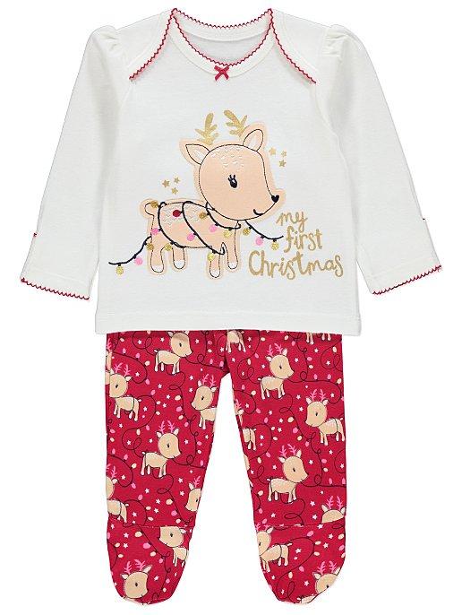 Baby's First Christmas Pyjamas