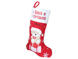 baby first christmas: Baby's First Christmas Stocking