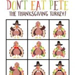 Don't eat Pete thanksgiving game