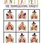 Don't eat Pete thanksgiving game