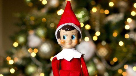 Elf on Baby's Shelf