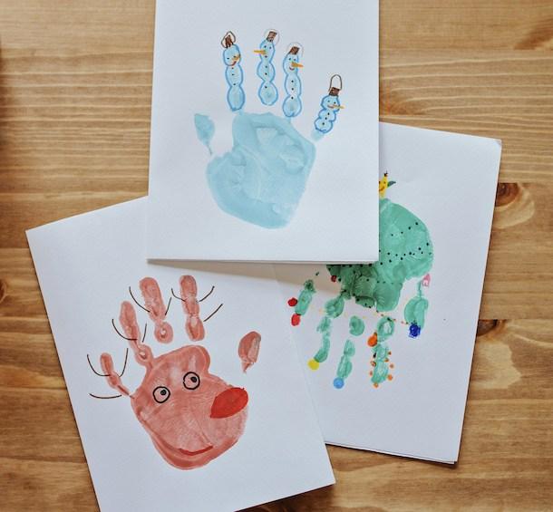 Footprint or Handprint Craft