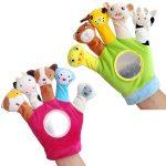 Stuffed glove turkey puppet show