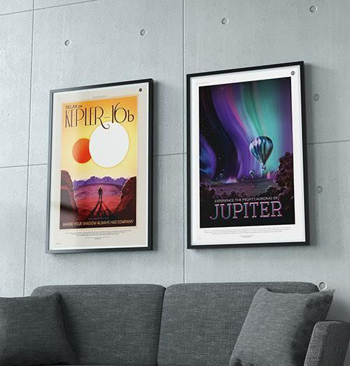 A Good Print or Poster in a Fancy Frame