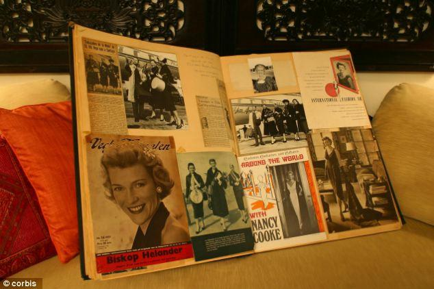 A Nice Old-Fashioned Scrapbook