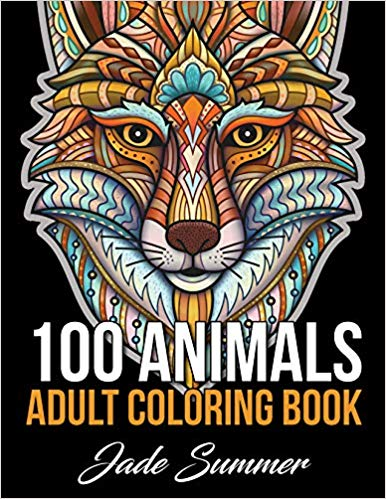 100 Animals: An Adult Coloring Book