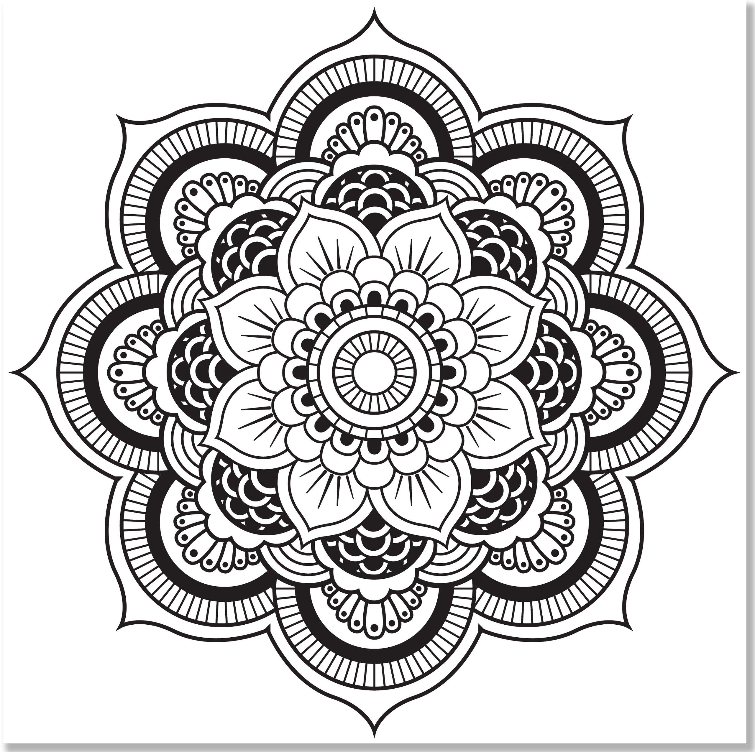 Mandala Adult Coloring Books
